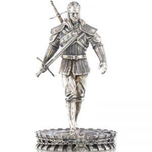 Biały Wilk Wiedźmin moneta figurka 50$ mennica gdańska